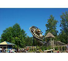 Amusement park #1 Photographic Print