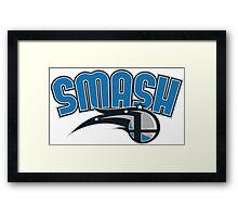 Smash Magic Framed Print