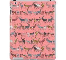 spice deer blush salmon iPad Case/Skin