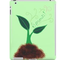 I'm Sprouting Up Lovely! iPad Case/Skin