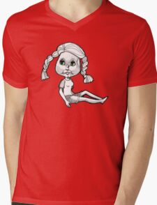 Josie: Beach Bum Mens V-Neck T-Shirt
