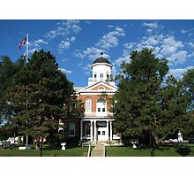 Lincoln County Court House Photographic Print