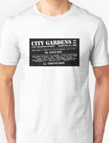 City Gardens - Punk Card Tee Shirt (v 1.2) T-Shirt