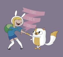 Fight Like a Girl: Fionna + Cake Kids Clothes