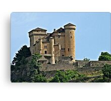 Cabriers  Chateau Canvas Print