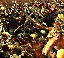 Triumph of Death II - Detail 4 by Polygonist