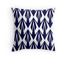 Kimi Raikkonen - Insignia Pattern (white) Throw Pillow