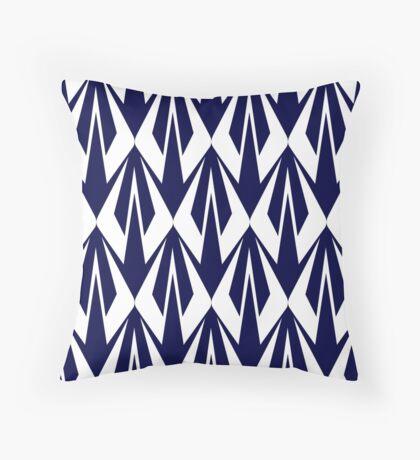 Kimi Raikkonen - Insignia Pattern (white) Throw Pillow