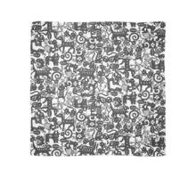 paper zodiac graphite Scarf