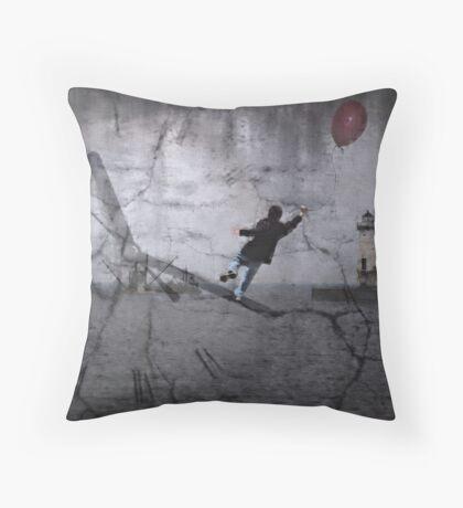 Time Travel Throw Pillow