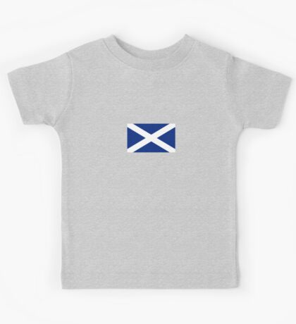 Scottish Independence Flag Scotland T-Shirt Kids Tee