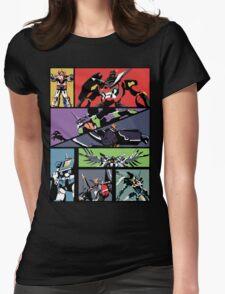 Super Robots Womens Fitted T-Shirt