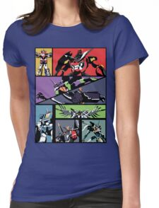 Super Robots Womens Fitted T-Shirt