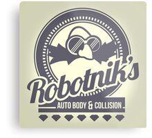 Robotnik's Auto Body & Collision Metal Print