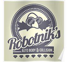 Robotnik's Auto Body & Collision Poster