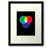 RGB colour Framed Print
