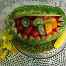 Watermelon Picnic by Linda Miller Gesualdo