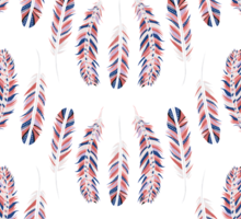 A Flock of Feathers Sticker
