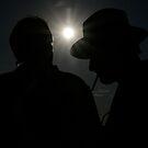 Cowboy Silhouette by kimwild