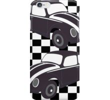 Chequered Flag VW Beetles iPhone Case/Skin