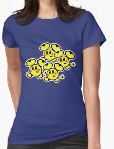 Pikachu Chu Rocket Womens Fitted T-Shirt
