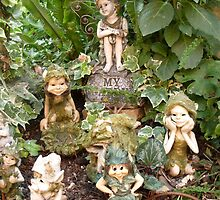 There are Fairies at the Bottom of My Garden by missmoneypenny