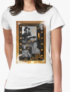 SUBURBAN DINGOES Womens Fitted T-Shirt