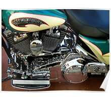Famous Chrome With A Hint Of Reflexion Poster