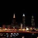 Cleveland Ohio Skyline I by PJS15204