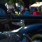 1933 Plymouth PD Sedan Hood Ornament by TeeMack