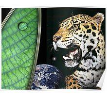 earth jaguar Poster