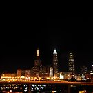 Cleveland Ohio Skyline II by PJS15204