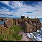 Dunnotar Castle another look by Shaun Whiteman