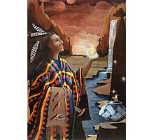 Earthgate -spiritual oil painting Photographic Print