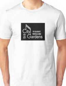 City Gardens - Punk Card Tee Shirt (v. 2.2) Unisex T-Shirt