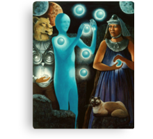 Initiation:11-11 -spiritual,fantasy oil painting Canvas Print