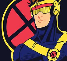X-Men vintage Cyclops 1990s  Retro by Spartaneous
