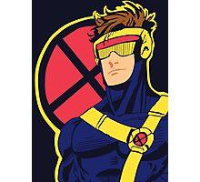 X-Men vintage Cyclops 1990s  Retro Photographic Print