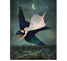 fly me to paris Photographic Print