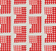 Red Gingham (Lynn & Gaile), 2011 by TheFancyReal