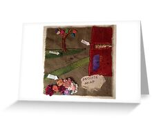Mouse Map Greeting Card