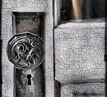 Vintage door by Sheri Nye