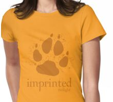 Imprinted Werewolf Twilight T-Shirt Womens Fitted T-Shirt