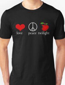 Love Peace Twilight T-Shirt T-Shirt