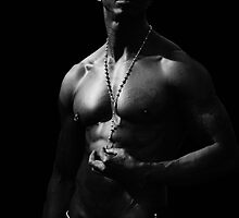 NY Physique - Black and White by Judith Oppenheimer