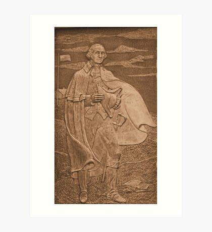George Washington ~ First President of The United States Art Print