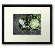 K9 H20 Framed Print