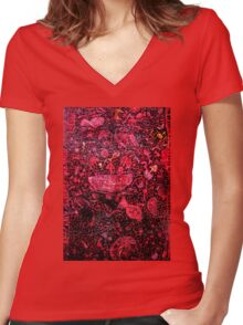 Illude 5 Women's Fitted V-Neck T-Shirt