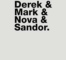 Derek & Mark & Nova & Sandor (Black) Unisex T-Shirt