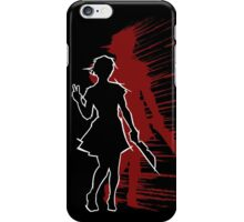 YGSS – Knife Vengeance Red iPhone Case/Skin